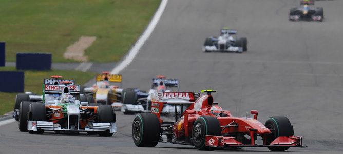 La FIA confirma la zona única de activación del DRS en Nürburgring