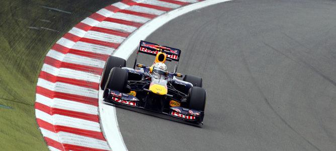 Sebastian Vettel consigue el mejor registro en los terceros libres del GP de Alemania 2011