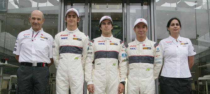 Kamui Kobayashi y Sergio Pérez seguirán en Sauber en 2012