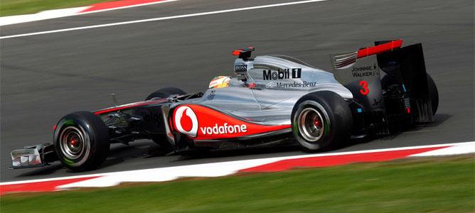 Lewis Hamilton lidera la primera sesión de libres del GP de Hungría