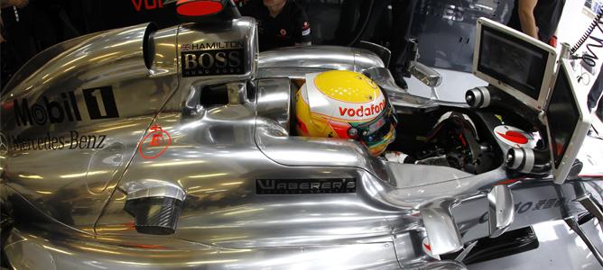 Lewis Hamilton encabeza también los segundos libres en Hungaroring