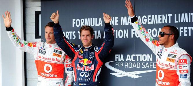 Sebastian Vettel se hace con la pole en el Gran Premio de Hungría 2011
