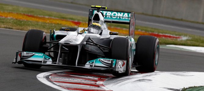 """Nico Rosberg: """"Con este coche, hacer séptimo es como ganar"""""""