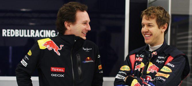 "Christian Horner: ""Sebastian Vettel absorbe muy bien la presión"""