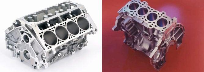 Motor en 'V' vs. Motor en 'Línea'