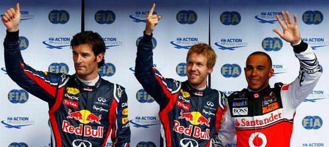 Nueva 'pole' para Sebastian Vettel en el GP de Bélgica 2011