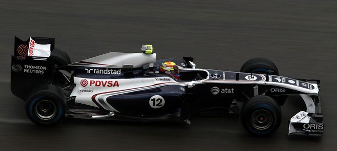 """Pastor Maldonado: """"Lewis Hamilton disminuyó la velocidad y yo intenté adelantarle"""""""