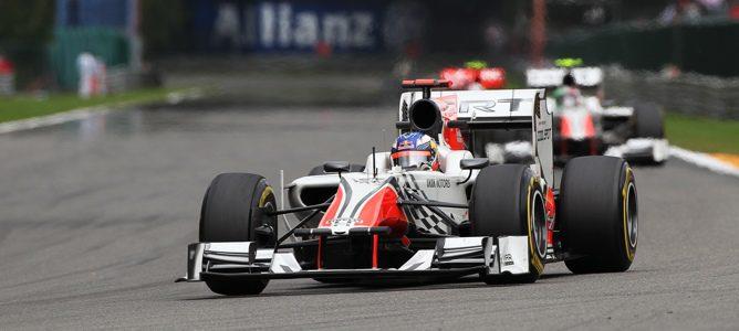 """Daniel Ricciardo: """"Las cosas iban bien y rodaba por delante de los Virgin y Lotus"""""""