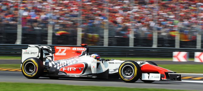 Vitantonio Liuzzi es penalizado con 5 posiciones para la carrera de Singapur
