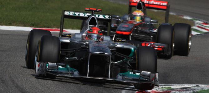 """""""Schumacher debió ser penalizado"""", admite un comisario del GP de Italia"""