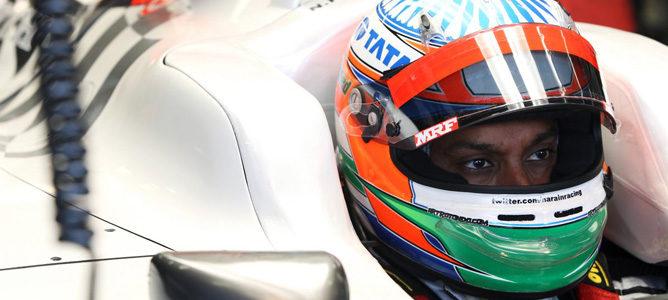 Narain Karthikeyan correrá en el GP de India y en los primeros libres de Singapur