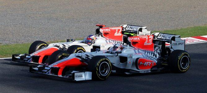 """Daniel Ricciardo: """"Tenemos que estar satisfechos porque estamos muy cerca de los Virgin"""""""