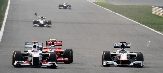 """Daniel Ricciardo: """"Hemos mantenido una buena lucha con los Virgin"""""""