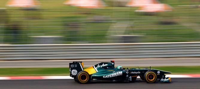 """Heikki Kovalainen: """"Es una buena sensación estar luchando con los coches de mitad del pelotón"""""""