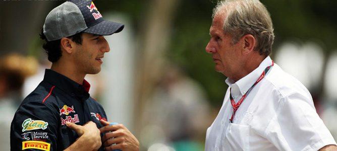"""Daniel Ricciardo: """"Sería un gran paso para mi carrera conseguir un asiento en Toro Rosso"""""""