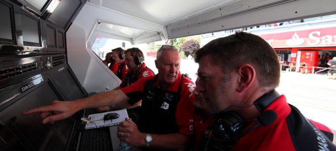 Parte de los ingenieros del equipo Virgin