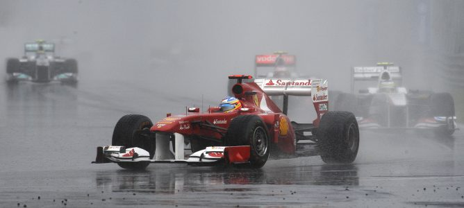 Durante el Gran Premio de Canadá 2011