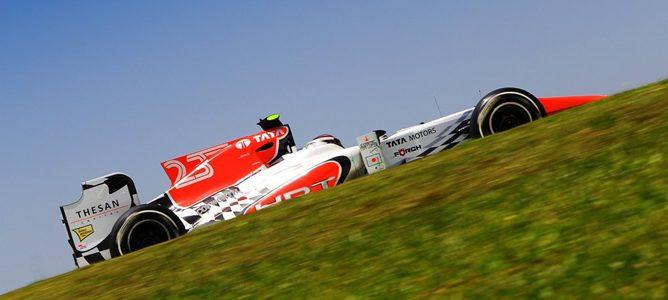 Jan Charouz libres 1 del GP Brasil 2011