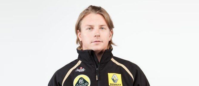 Kimi Raikkonen en Lotus Renault GP