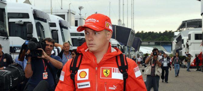Raïkkönen de Ferrari