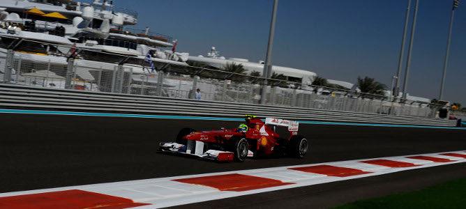 Felipe Massa en Abu Dabi