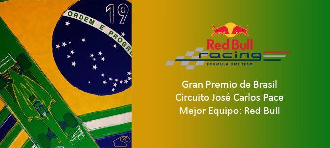Cartel anunciador del GP de Brasil 2011