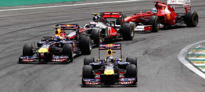 Red Bull en Interlagos