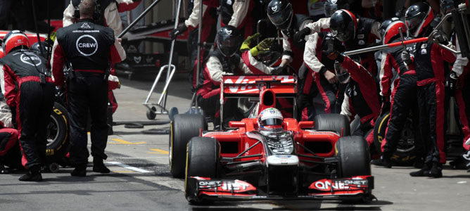 Virgin en Interlagos