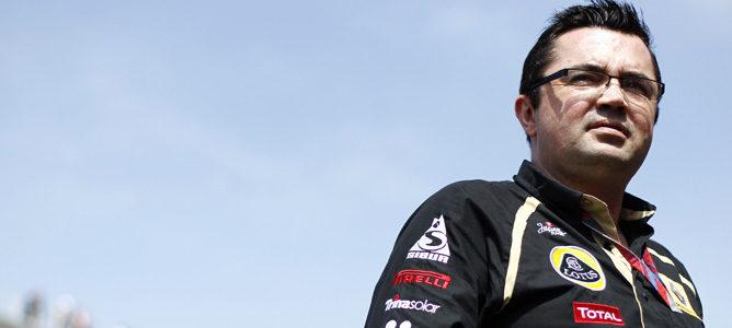 Eric Boullier, jefe de equipo de Lotus Renault GP