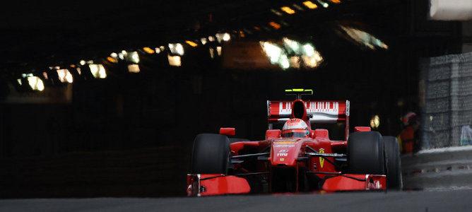 Kimi Räikkönen en mónaco 2009