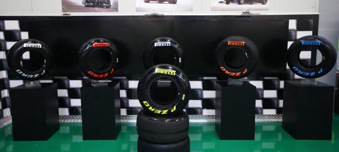Neumáticos Pirelli para 2012
