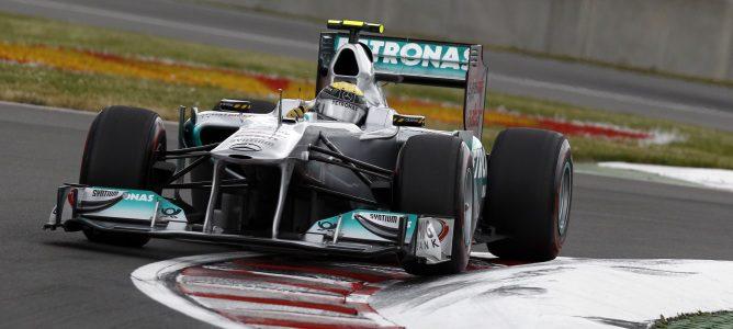 Nico Rosberg con su Mercedes GP