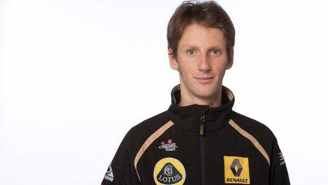 Romain Grosjean nuevo piloto de Lotus Renault GP 2012