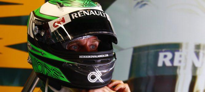 Kovalainen con Team Lotus 2011