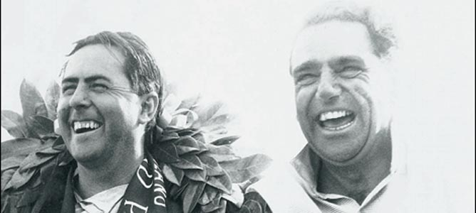 Jack Brabham y John Cooper