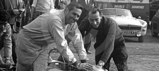 Jack Brabham y Ron Tauranac