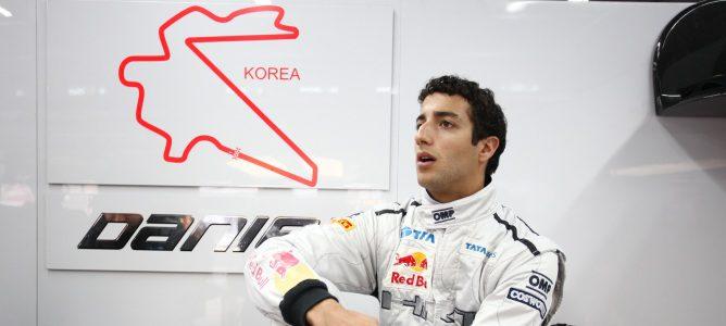 Ricciardo en Corea 2011