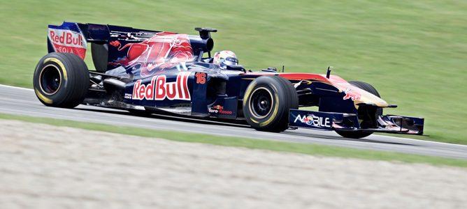 Sébastien Buemi en el Toro Rosso