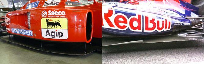 Ferrari F92A y Toro Rosso STR6