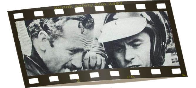 Colin Chapman y Jim Clark