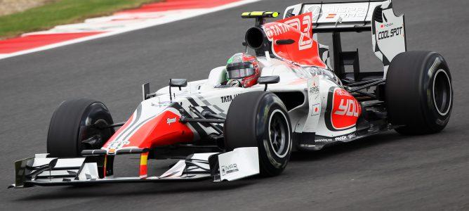Liuzzi en pista con HRT