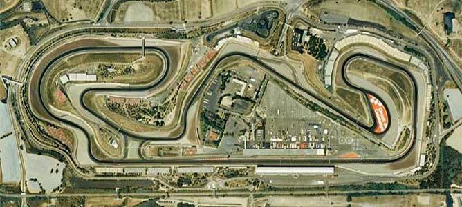 El trazado de Montmeló, sede del GP de España