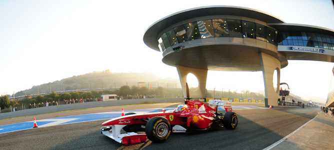 Alonso en Jerez