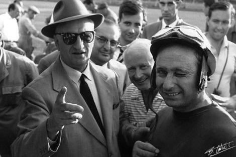 La exhibición de Fangio