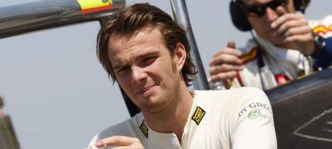 Giedo van der Garde durante un Gran Premio de GP2 en 2011