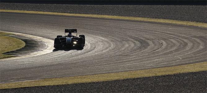 Kimi rodando con el Lotus