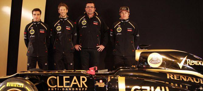 Eric Boullier y sus pilotos para 2012