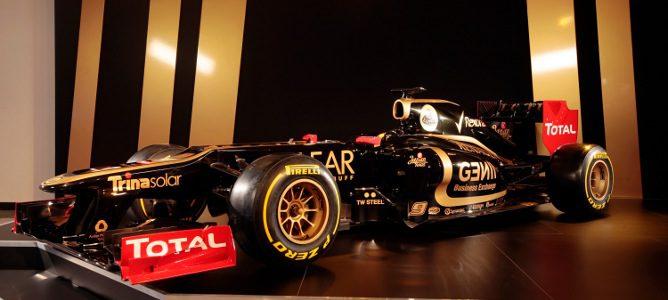 El monoplaza de Lotus para 2012