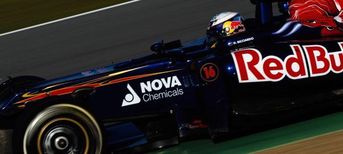 Ricciardo en Jerez