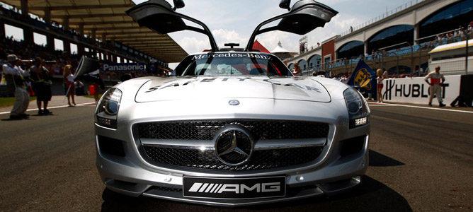 El Mercedes que se usa como SC en F1